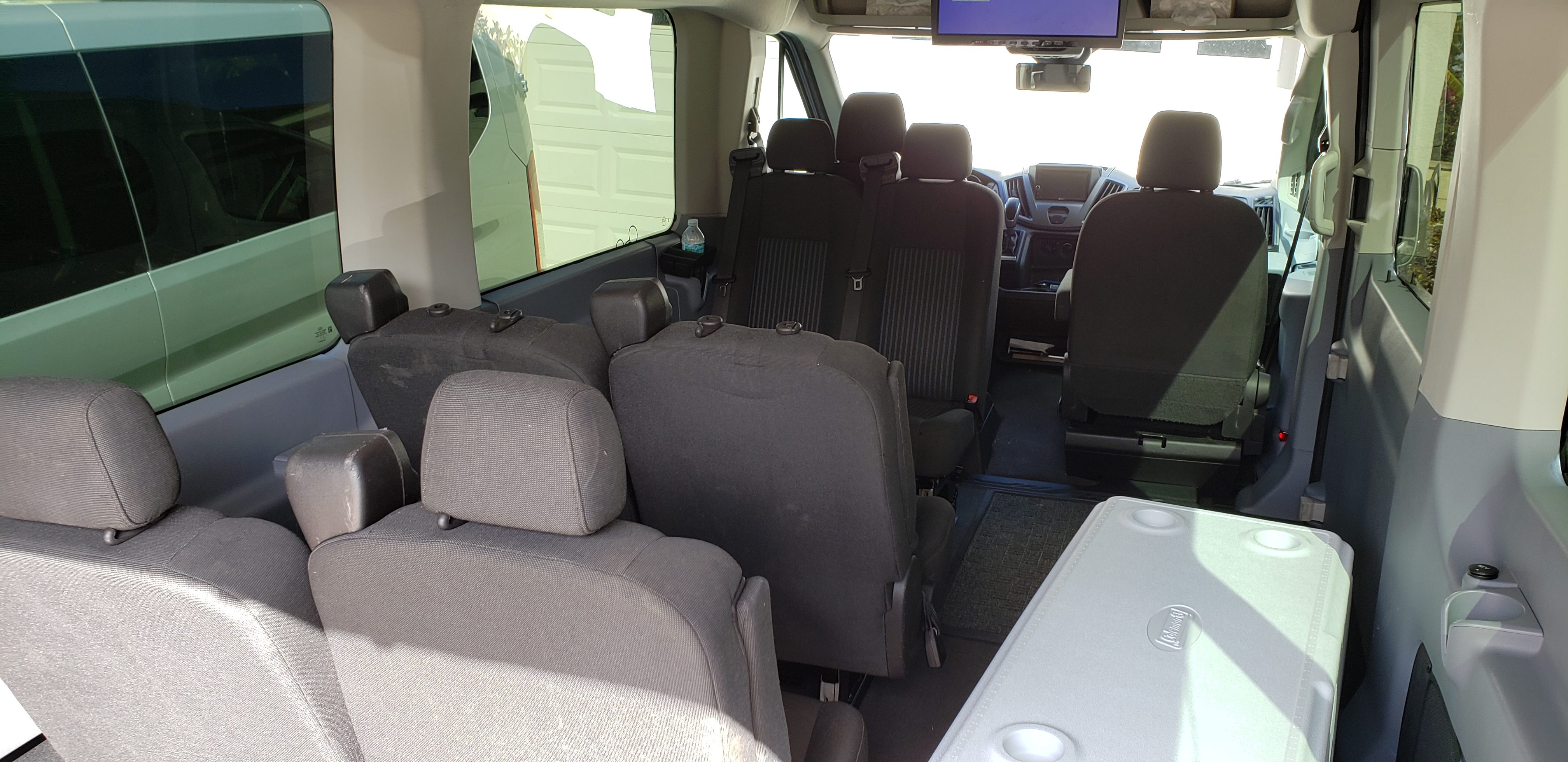 Relocating Seats To Increase Legroom Ford Transit Usa Forum