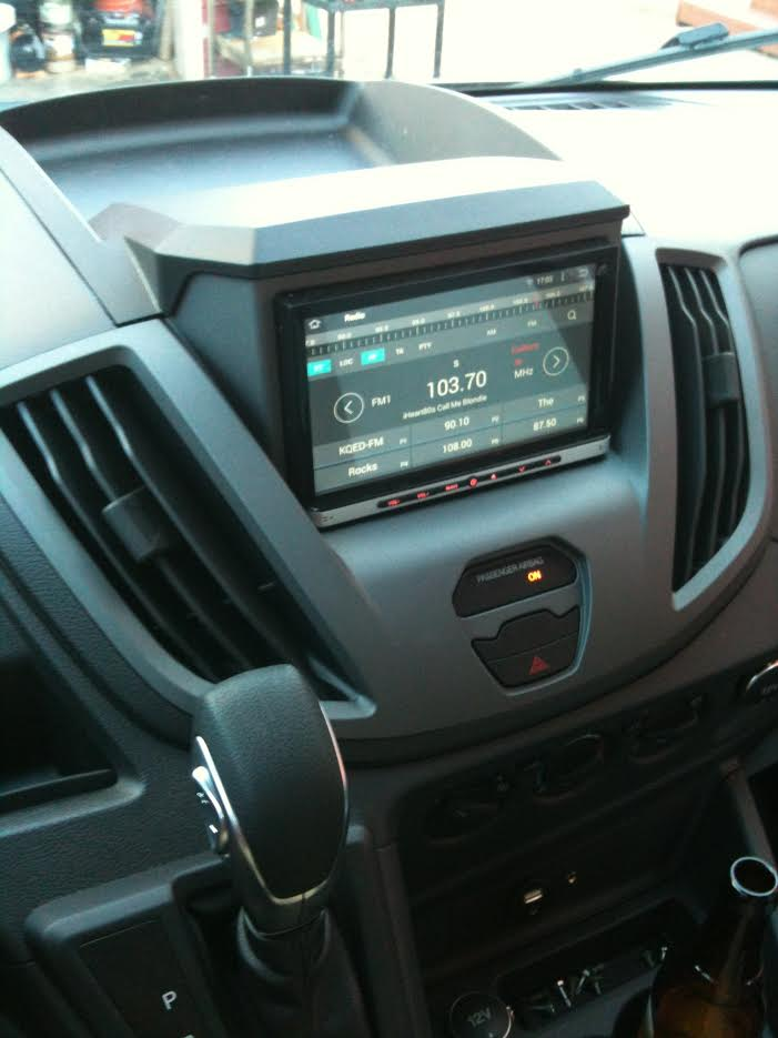 w//o Nav 2015-up METRA 99-5835G *NEW* CAR RADIO DASH KIT// Ford Transit