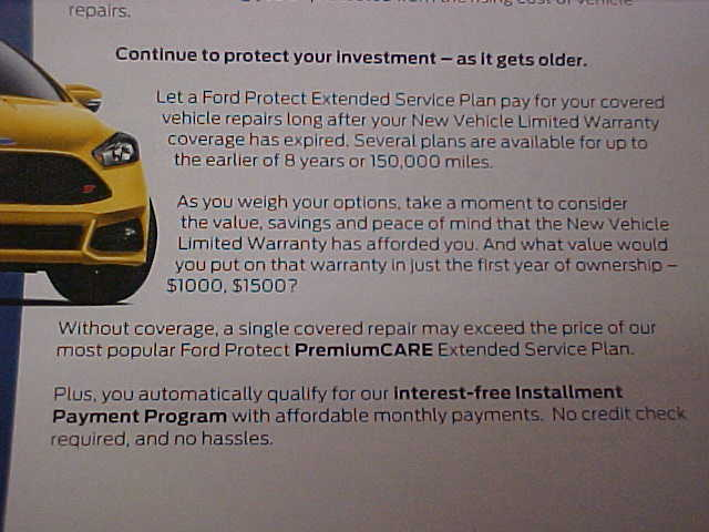 Ford Extended Warranty Premium Care >> Ford Protect Ford Transit Extended Warranty Ford Transit
