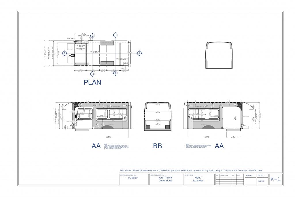Ford Transit Dimensions >> Transit Dimensions Ford Transit Usa Forum