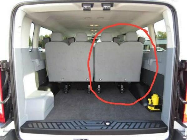 Ford Transit 12 Passenger Van >> Wtb 4th Row Passenger Side Double Seat Ford Transit Usa Forum
